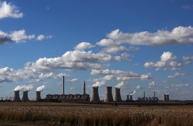 South Africa's Eskom says 3 power plants have below 10 days