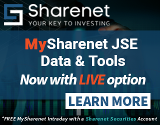 SHARENET - Your Key To Investing on The JSE Securities Exchange